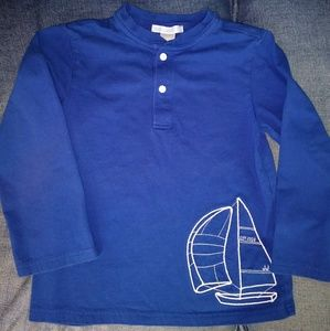 Janie and Jack sailboat shirt